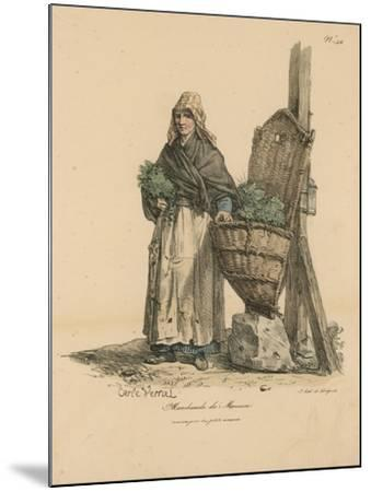 Marchand De Mouron-Antoine Charles Horace Vernet-Mounted Giclee Print