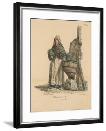 Marchand De Mouron-Antoine Charles Horace Vernet-Framed Giclee Print