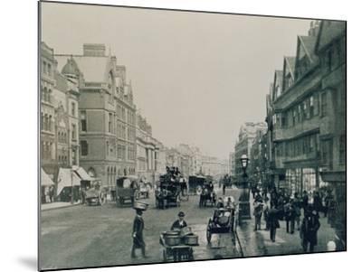 Holborn, London--Mounted Photographic Print