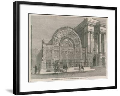 The Floral Arcade, Royal Italian Opera House, Covent Garden--Framed Giclee Print