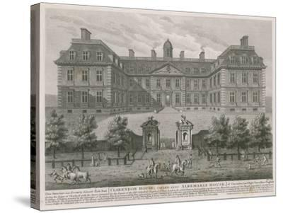 Clarendon House, also known as Albemarle House--Stretched Canvas Print