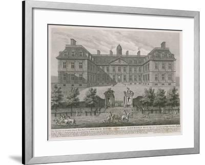 Clarendon House, also known as Albemarle House--Framed Giclee Print