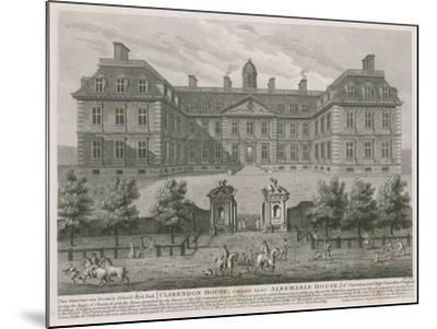 Clarendon House, also known as Albemarle House--Mounted Giclee Print