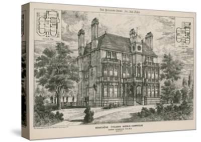 Beauchene, Fitzjohn Avenue, Hampstead--Stretched Canvas Print