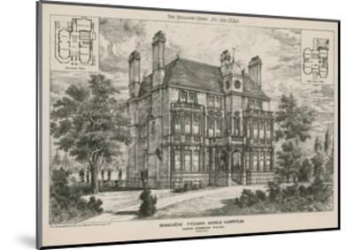 Beauchene, Fitzjohn Avenue, Hampstead--Mounted Giclee Print