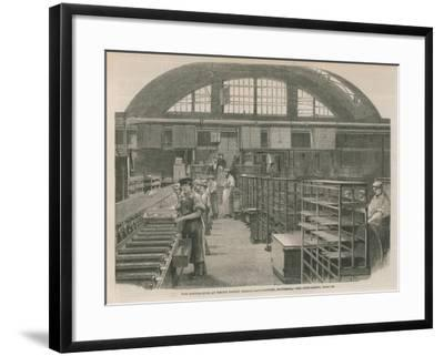 The Candle Room at Price's Patent Candle Manufactury, Battersea--Framed Giclee Print