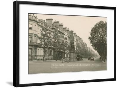 Queen's Gate, Kensington, London--Framed Photographic Print
