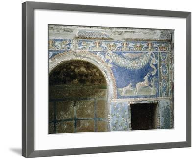 Detail of a Mosaic from the Summer Dining Room at the House of the Neptune and Amphitrite Mosaic--Framed Giclee Print