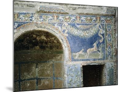 Detail of a Mosaic from the Summer Dining Room at the House of the Neptune and Amphitrite Mosaic--Mounted Giclee Print