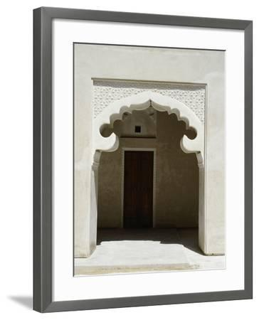 Arched Entrance Way of a Madrasah or Koranic School, Dubai--Framed Giclee Print