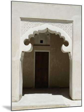 Arched Entrance Way of a Madrasah or Koranic School, Dubai--Mounted Giclee Print