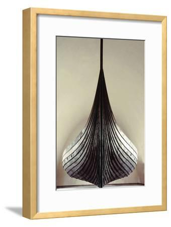 The Gokstad Ship--Framed Giclee Print