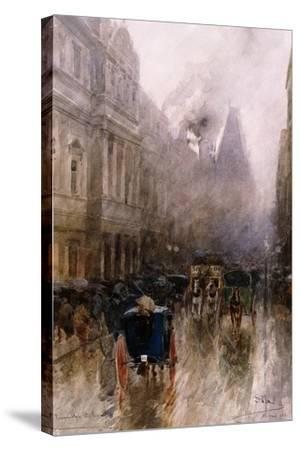 Piccadilly, London-Paolo Sala-Stretched Canvas Print