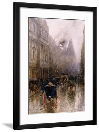 Piccadilly, London-Paolo Sala-Framed Giclee Print
