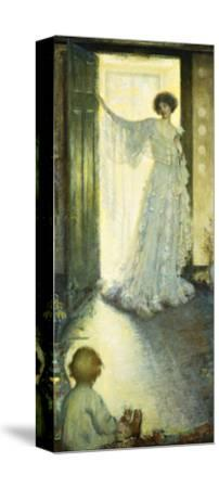 Mother and Child-Philip Leslie Hale-Stretched Canvas Print