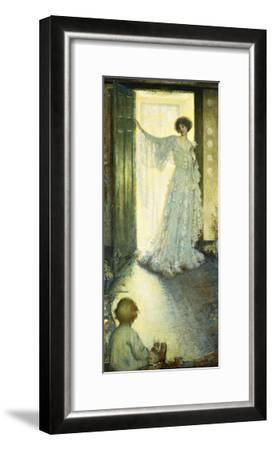 Mother and Child-Philip Leslie Hale-Framed Giclee Print