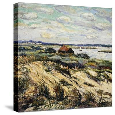 Shack on the Bay-Ernest Lawson-Stretched Canvas Print
