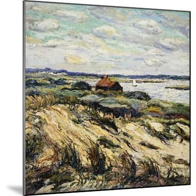 Shack on the Bay-Ernest Lawson-Mounted Giclee Print