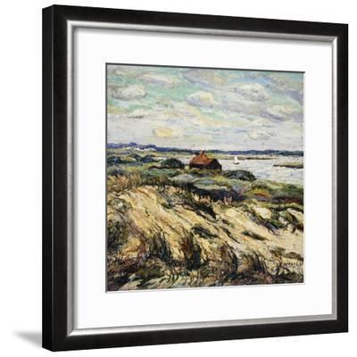 Shack on the Bay-Ernest Lawson-Framed Giclee Print
