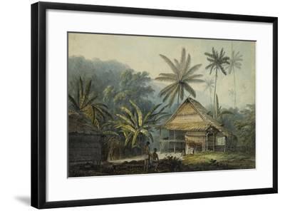 View in the Island of Crakatoa-John Webber-Framed Giclee Print