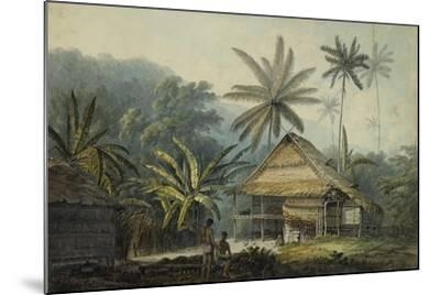 View in the Island of Crakatoa-John Webber-Mounted Giclee Print