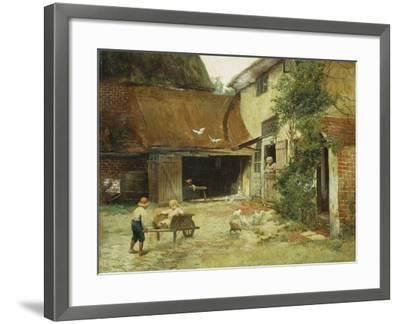 A Cottage in Brooklyn-James Wells Champney-Framed Giclee Print