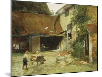 A Cottage in Brooklyn-James Wells Champney-Mounted Giclee Print