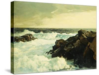 Hightide-Frederick Judd Waugh-Stretched Canvas Print