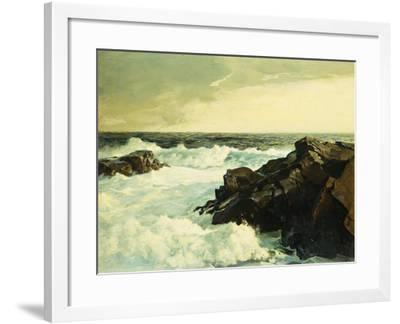 Hightide-Frederick Judd Waugh-Framed Giclee Print