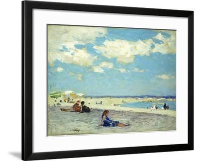 Long Beach-Edward Henry Potthast-Framed Giclee Print