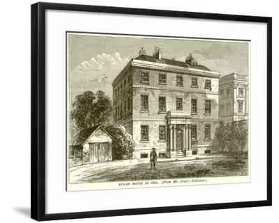 Apsley House in 1800--Framed Giclee Print