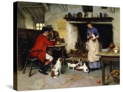 The Beauty of the Family, 1895-Leghe Suthers-Stretched Canvas Print