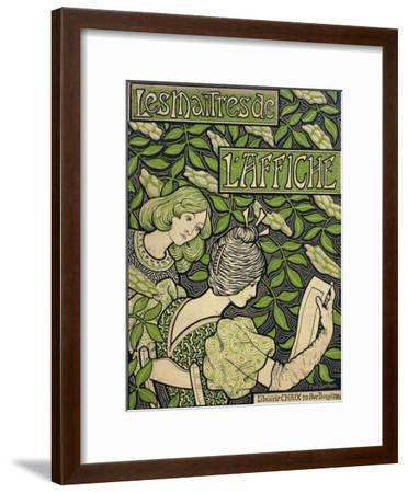 Title Page from the Masters of the Poster, Volumes I-V; Les Maitres De L'Affiche, Volumes I-V,…-Paul Berthon-Framed Giclee Print