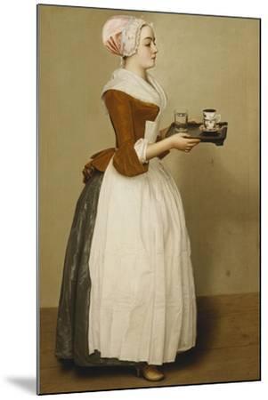 Cup of Chocolate; La Tasse Du Chocolat-Jean-Etienne Liotard-Mounted Giclee Print