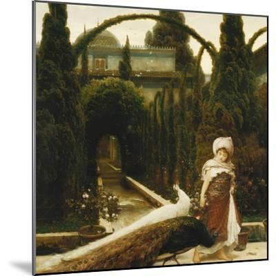Moorish Garden; a Dream of Granada-Frederick Leighton-Mounted Premium Giclee Print