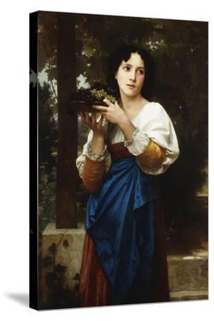 La Treille, 1898-William Adolphe Bouguereau-Stretched Canvas Print