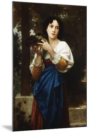 La Treille, 1898-William Adolphe Bouguereau-Mounted Giclee Print