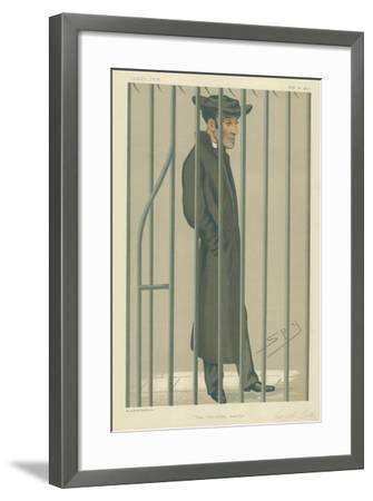The Reverend Arthur Tooth, the Christian Martyr, 10 February 1877, Vanity Fair Cartoon-Sir Leslie Ward-Framed Giclee Print