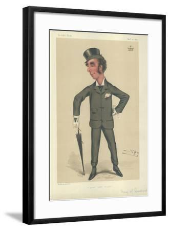 The Marquess of Queensbury-Sir Leslie Ward-Framed Giclee Print