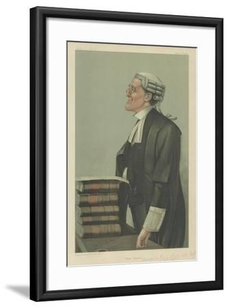 Mr Charles a Cripps-Sir Leslie Ward-Framed Giclee Print