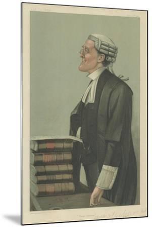 Mr Charles a Cripps-Sir Leslie Ward-Mounted Giclee Print
