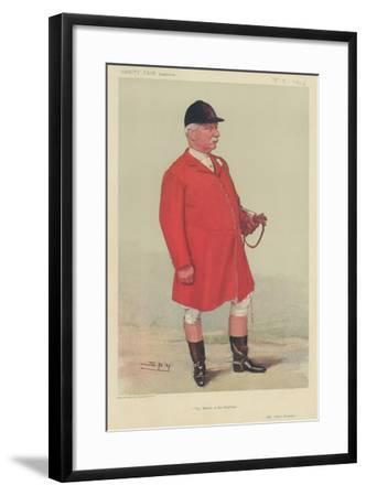 Mr Albert Brassey-Sir Leslie Ward-Framed Giclee Print