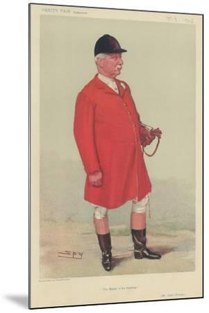 Mr Albert Brassey-Sir Leslie Ward-Mounted Giclee Print
