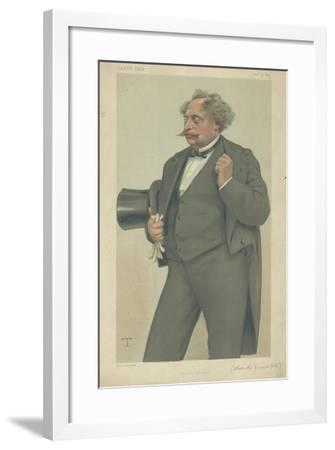 M Alexandre Dumas Fils-Theobald Chartran-Framed Giclee Print