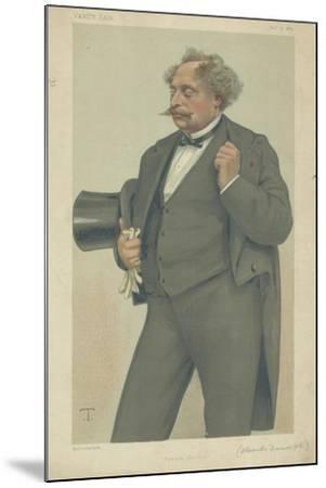 M Alexandre Dumas Fils-Theobald Chartran-Mounted Giclee Print