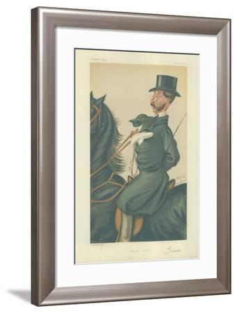 Mr John Mackenzie Grieve-Sir Leslie Ward-Framed Giclee Print