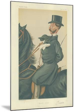 Mr John Mackenzie Grieve-Sir Leslie Ward-Mounted Giclee Print