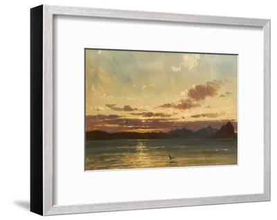 Isle of Arran, C.1840-75-Francis Danby-Framed Giclee Print