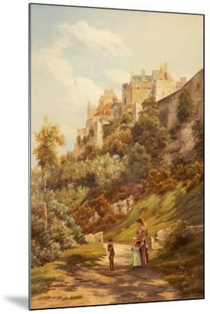 Stirling Castle-Theodore Hines-Mounted Giclee Print