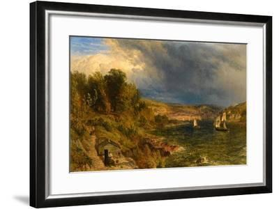 Dartmouth from St. Petrox Churchyard, 1852-Henry Dawson-Framed Giclee Print